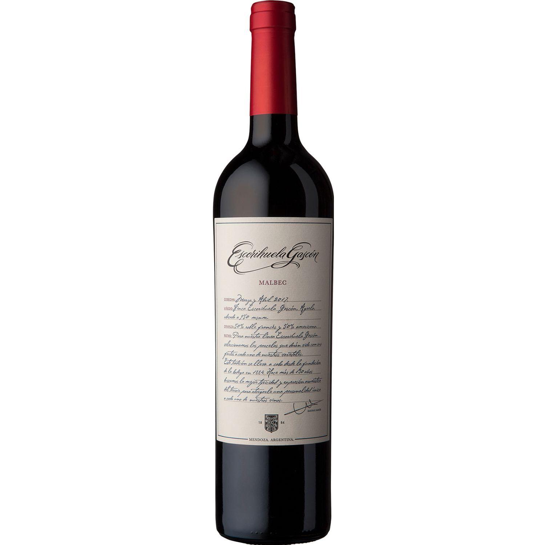ESCORIHUELA GASCON Vino Tinto Malbec X 750ml Sin color Tinto