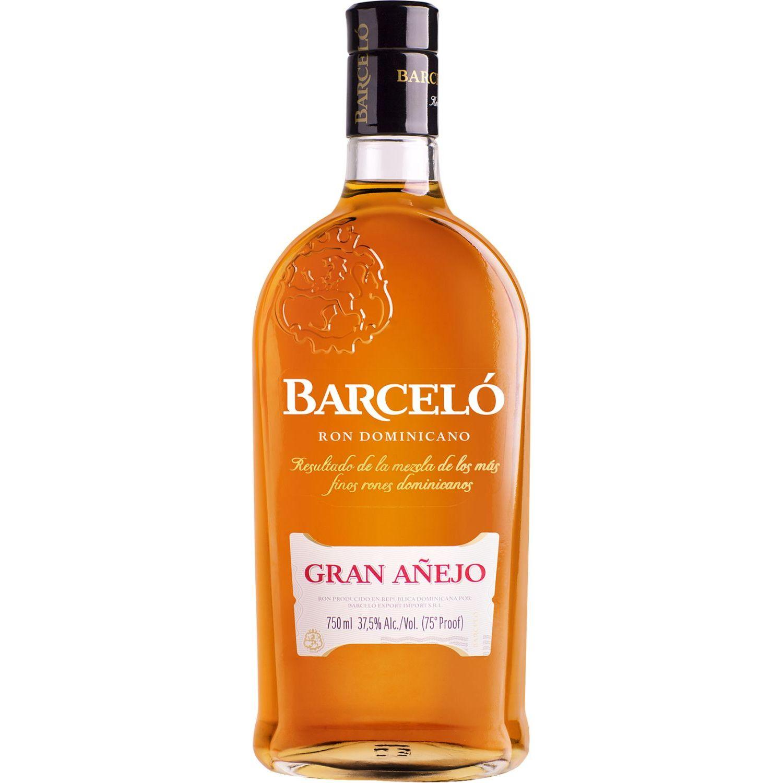 BARCELO Ron Gran Añejo X 750ml Sin color Ron