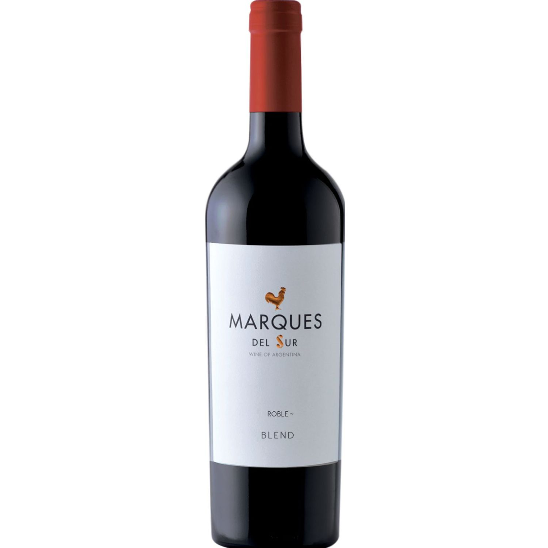 MARQUES DEL SUR Vino Tinto Roble Blend X 750ml Sin color Tinto