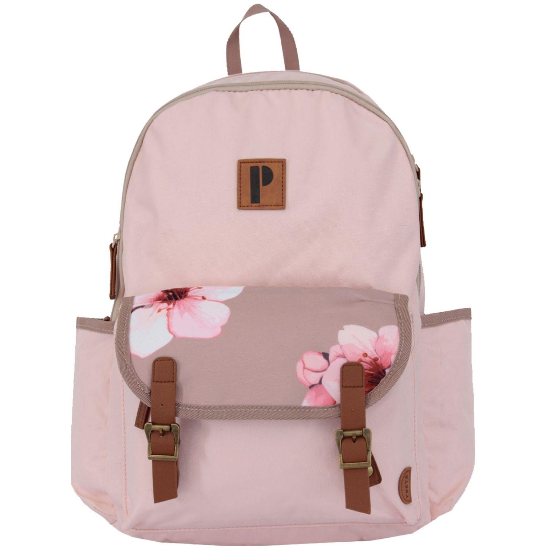 PORTA Mochila Akira-Mch Pink Flower PINK FLOWER Mochilas
