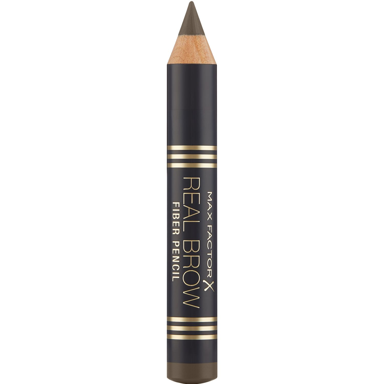 Max Factor Delineador Real Brow Fiber Pencil MEDIUM BROWN Combinaciones de sombra y delineador