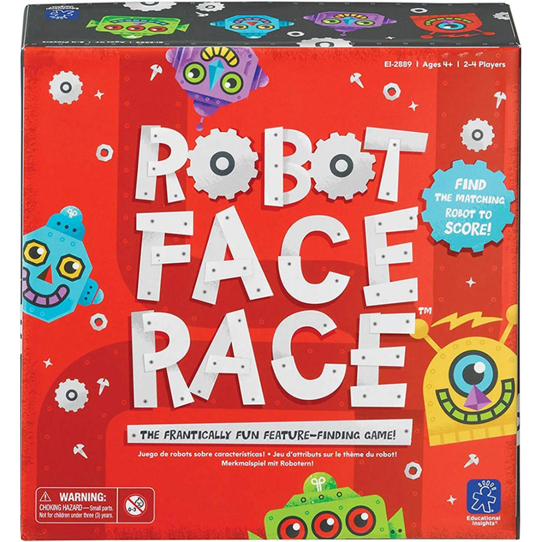 EDUCATIONAL INSIGHTS Robot Carreras De Caras MULTICOLOR Juegos de mesa