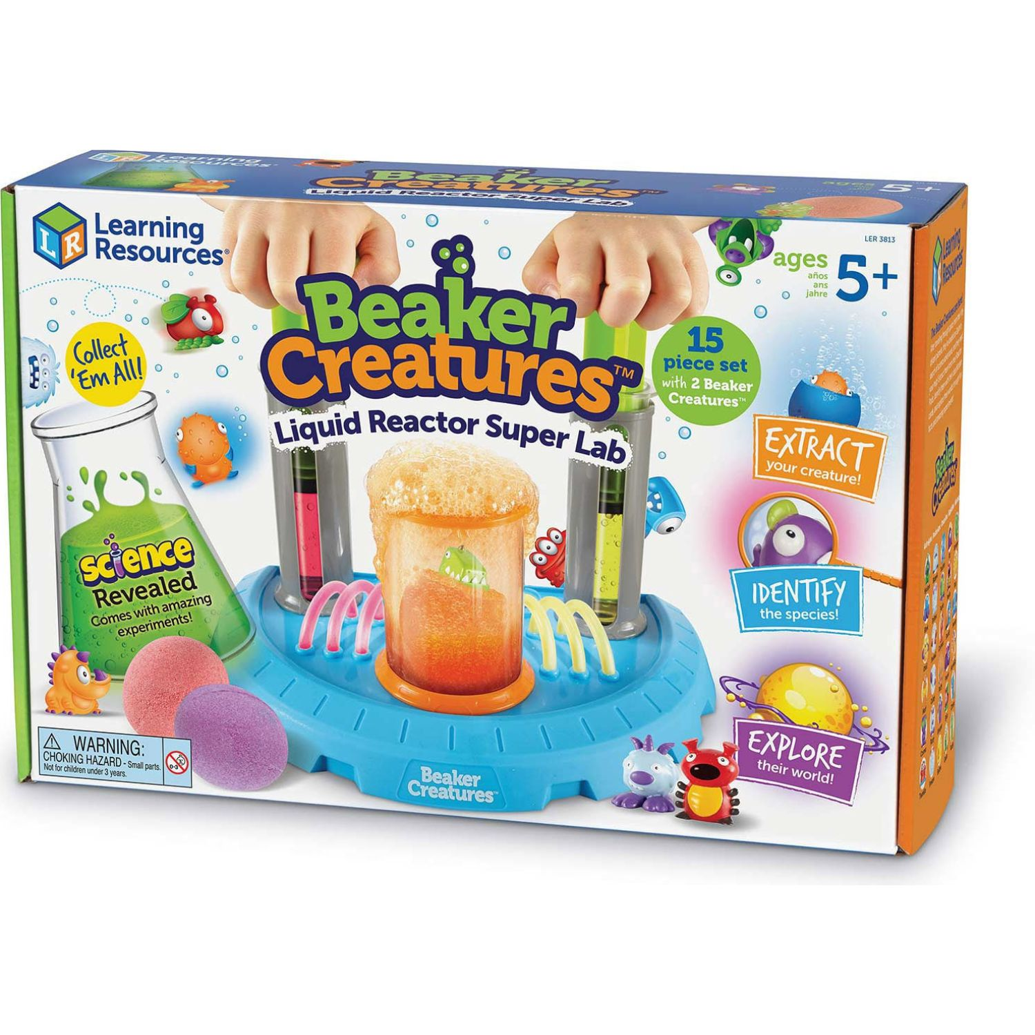 LEARNING RESOURCES Creaturas De Jarra Reaccion Li MULTICOLOR Juegos de cartas