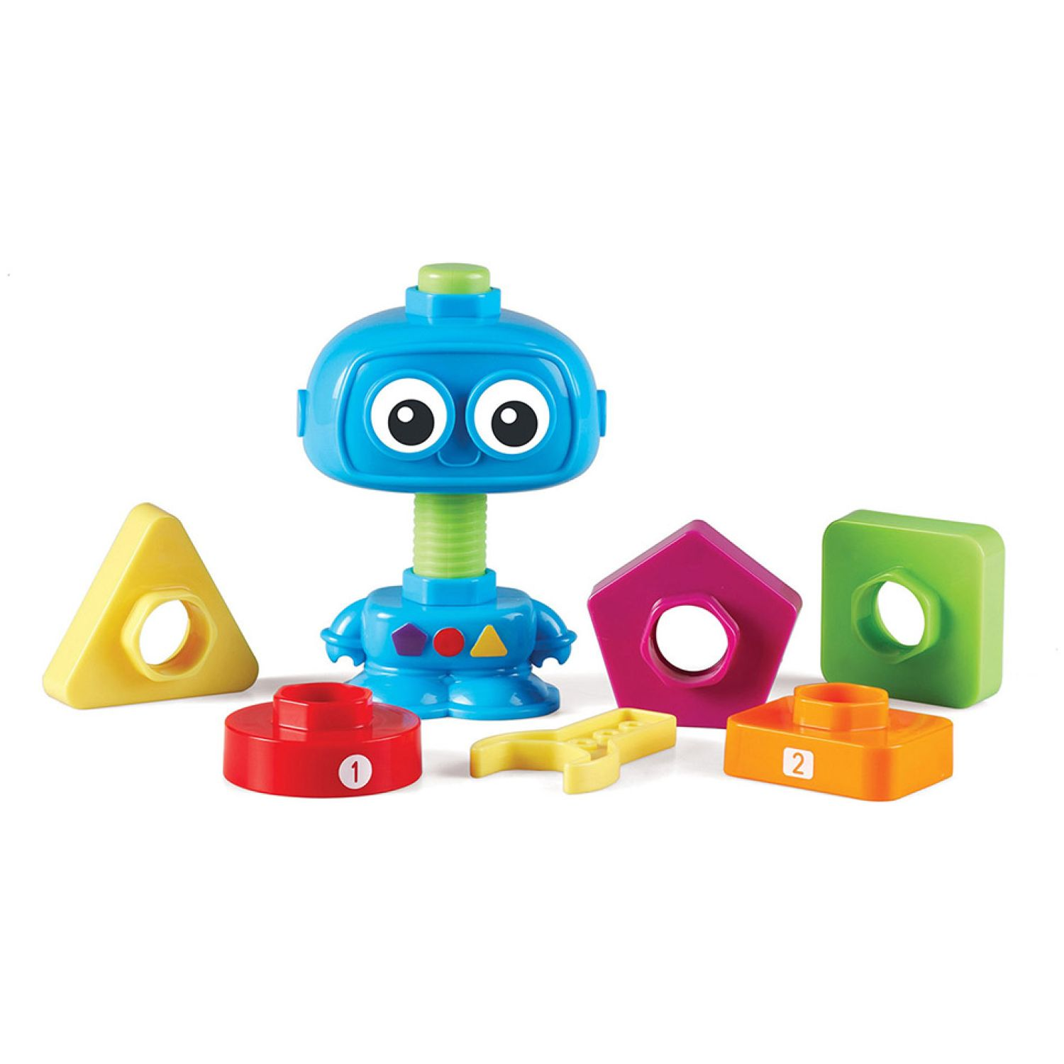 LEARNING RESOURCES Robot Para Contar Y Construir Totbot MULTICOLOR Juegos de construcción