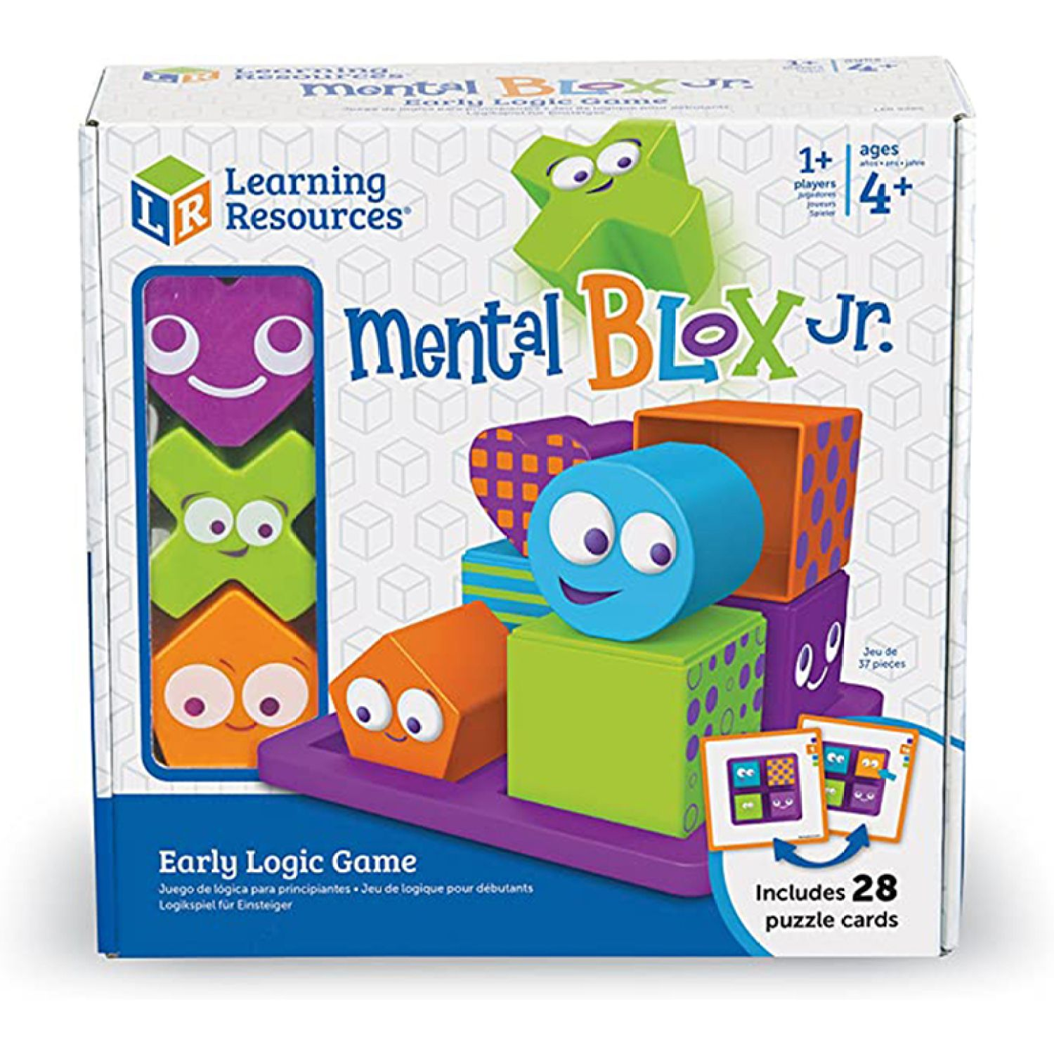 LEARNING RESOURCES Set De Juego Analítico De Bloques MULTICOLOR Juegos de cartas