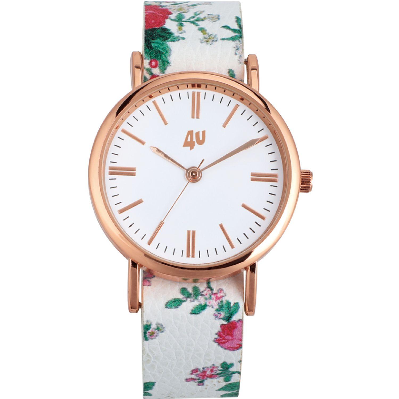 Just4u Reloj Dama W40449-1 Blanco Relojes de pulsera