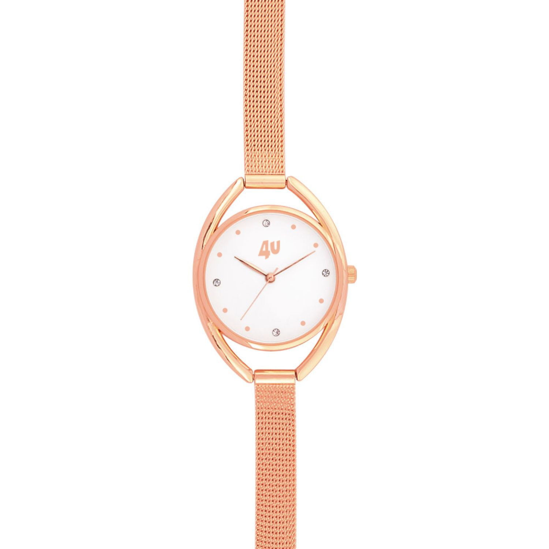 Just4u Reloj Dama W40115-2 Rose gold Relojes de pulsera