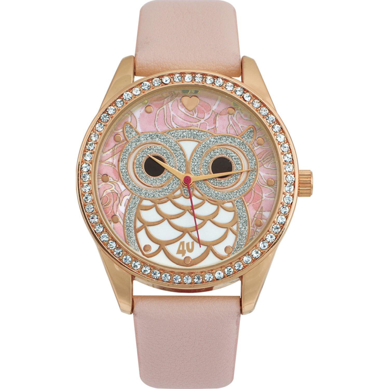 Just4u Reloj Dama W40133-1 Rosado Relojes de pulsera