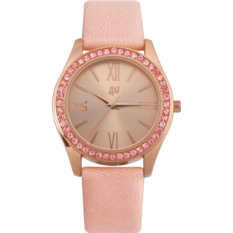 Just4u Reloj Dama W40134-1 Rosado Relojes de pulsera