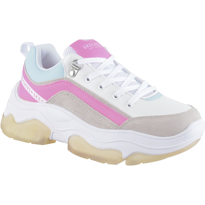 Skechers Amp'D Blanco / rosado Para caminar