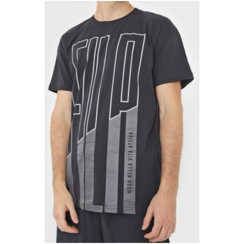 Fila Remera Lia Negro Camisetas y polos deportivos
