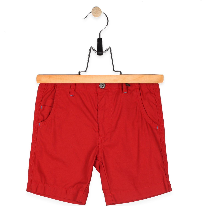 PILLIN Bermuda Niño Rojo Shorts