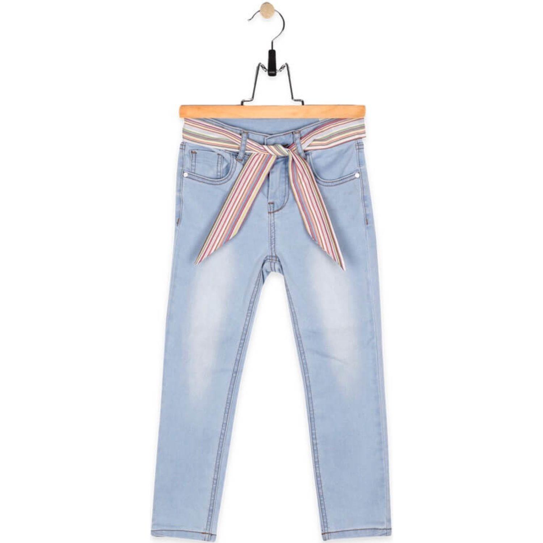 PILLIN Jeans Niña Azul Pantalones y capris