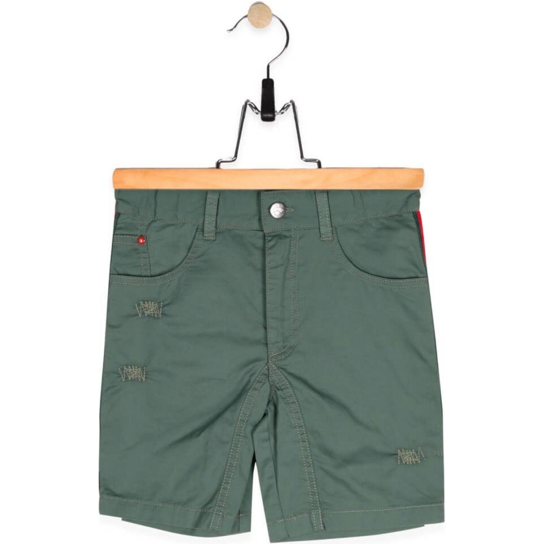 PILLIN Bermuda Niño Verde Shorts