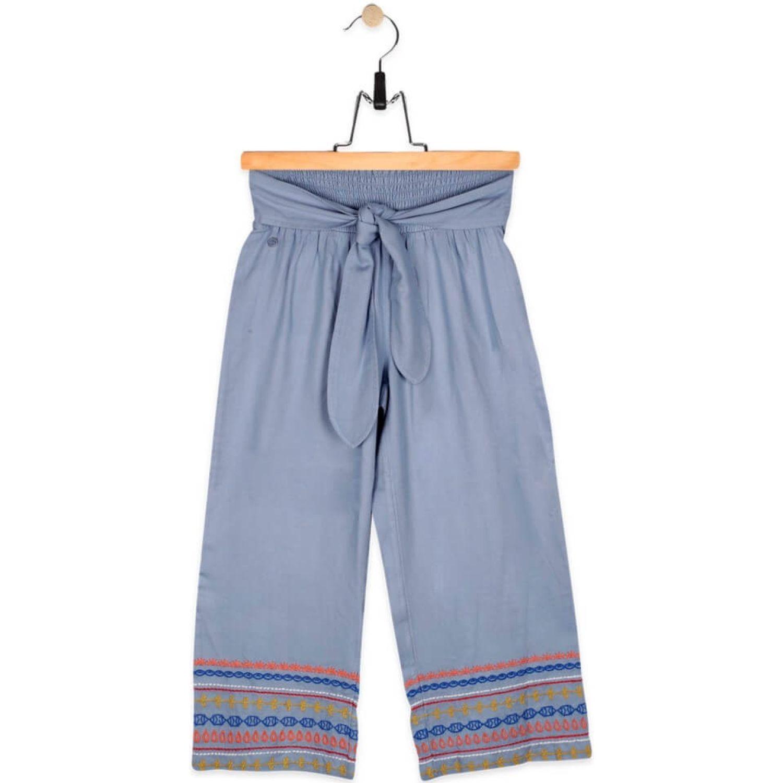 PILLIN Pantalón Niña Celeste Pantalones y capris