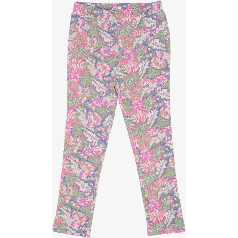 PILLIN Pantalon De Estampados Rosado Pantalones y capris