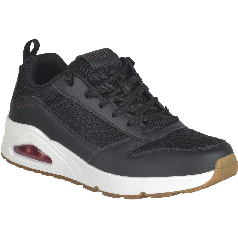 Skechers Uno Negro / blanco Correr por carretera