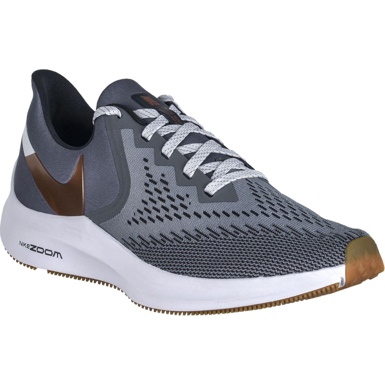 Nike Zapatilla Running Zoom Winflo 6 Gris Correr por carretera