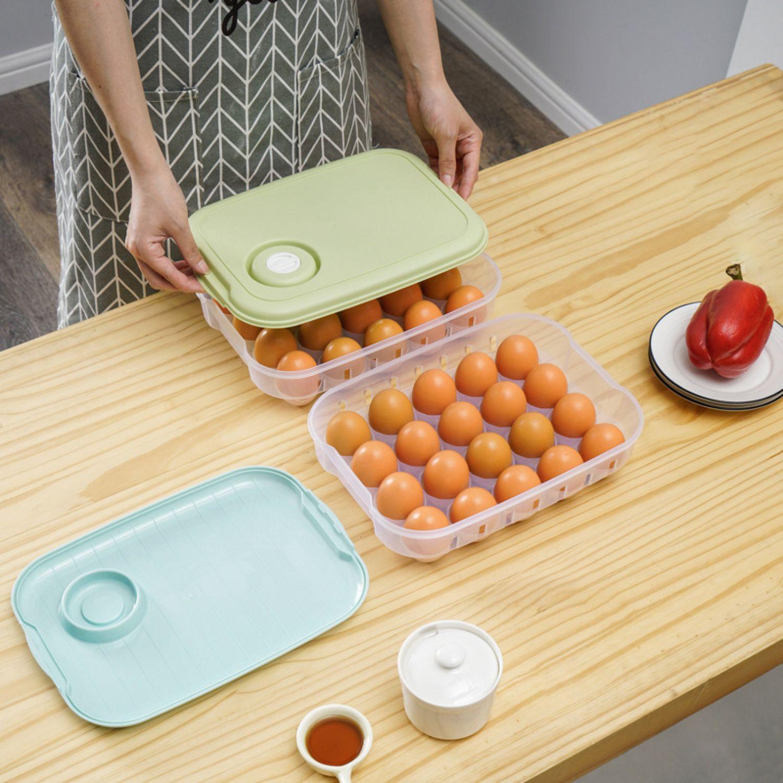 Platanitos Life Caja De Huevos D11 Rosado Botes y contenedores de alimentos