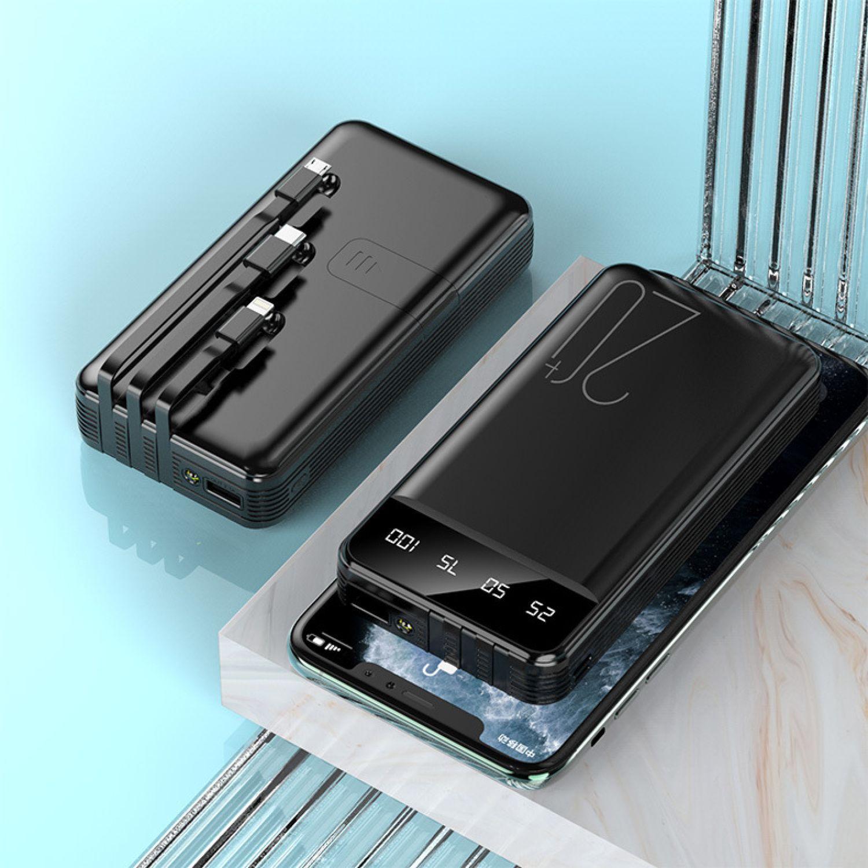Platanitos Life Bateria 8000mah B21 Negro Baterías de repuesto