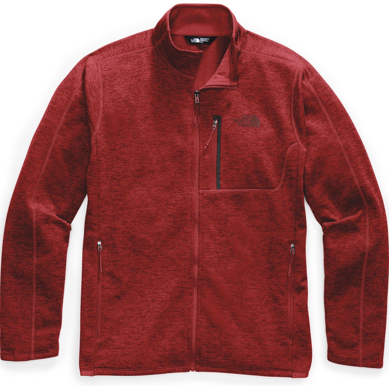 The North Face M Canyonlands Full Zip Rojo Jerseys