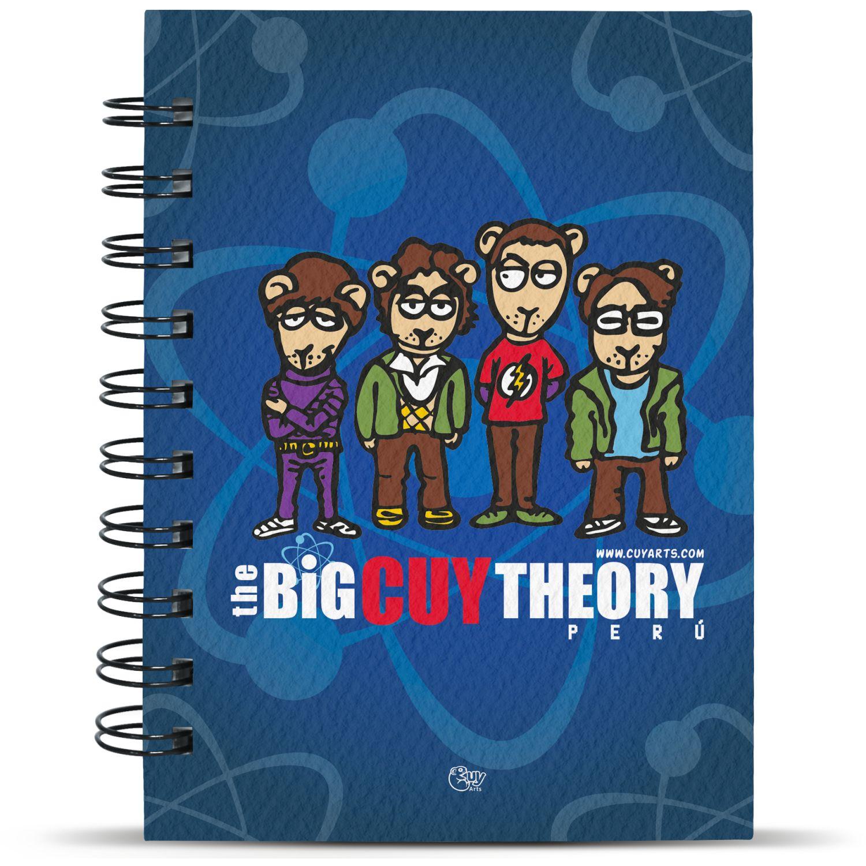CUY ARTS Big Theory Varios Cuadernos sujetos