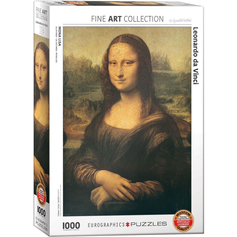 EUROGRAPHICS Da Vinci - Mona Lisa Varios Rompecabezas 3-d