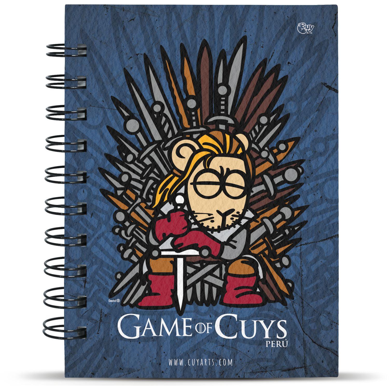 CUY ARTS Game Of Cuys Varios Cuadernos sujetos