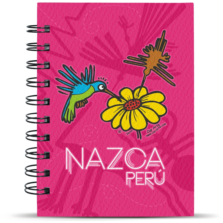 CUY ARTS Colibri Nazca Varios Cuadernos sujetos