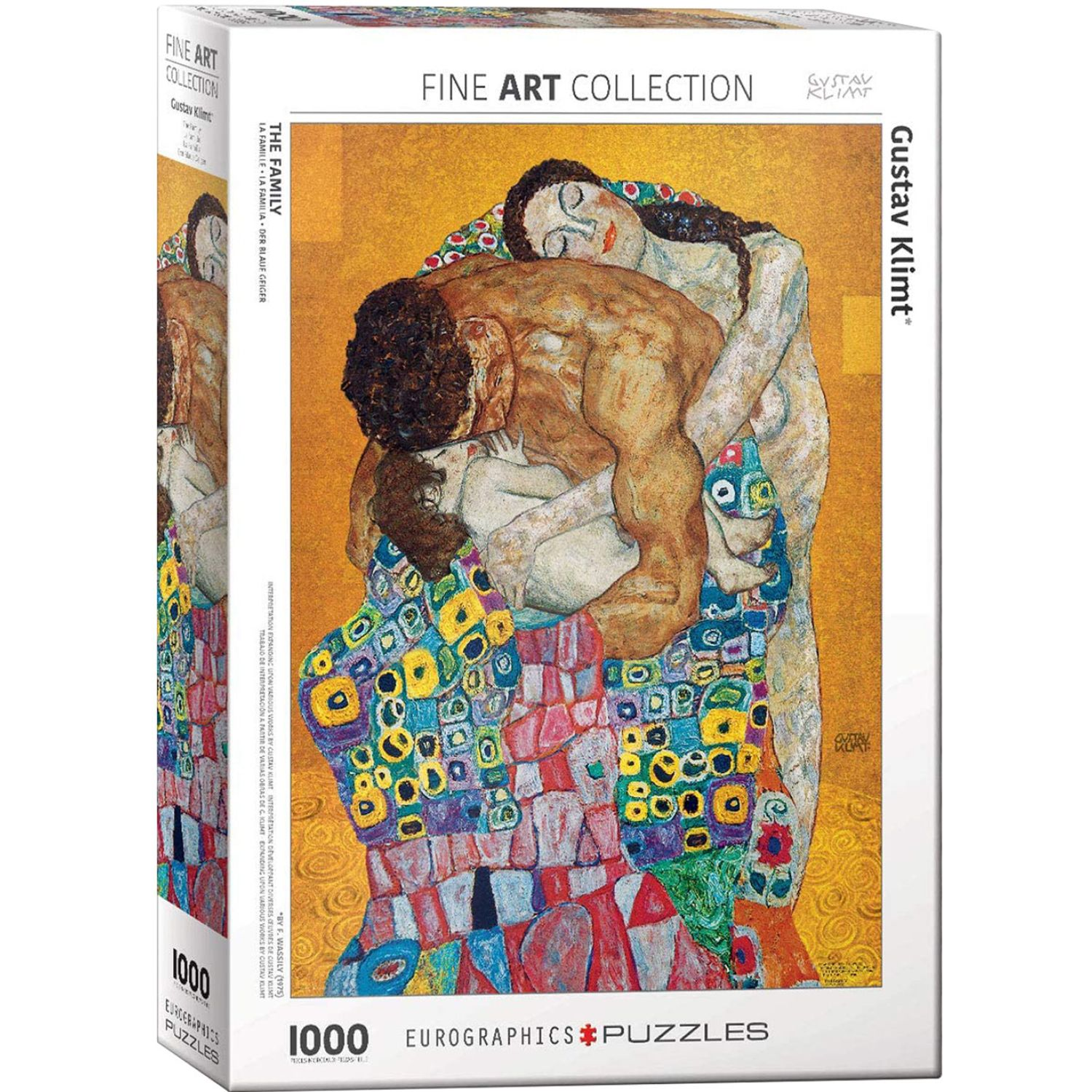EUROGRAPHICS The Family By Gustav Klimt Varios Rompecabezas 3-d