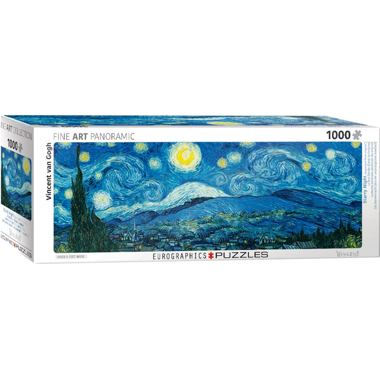 EUROGRAPHICS Starry Night Panorama Varios Rompecabezas 3-d