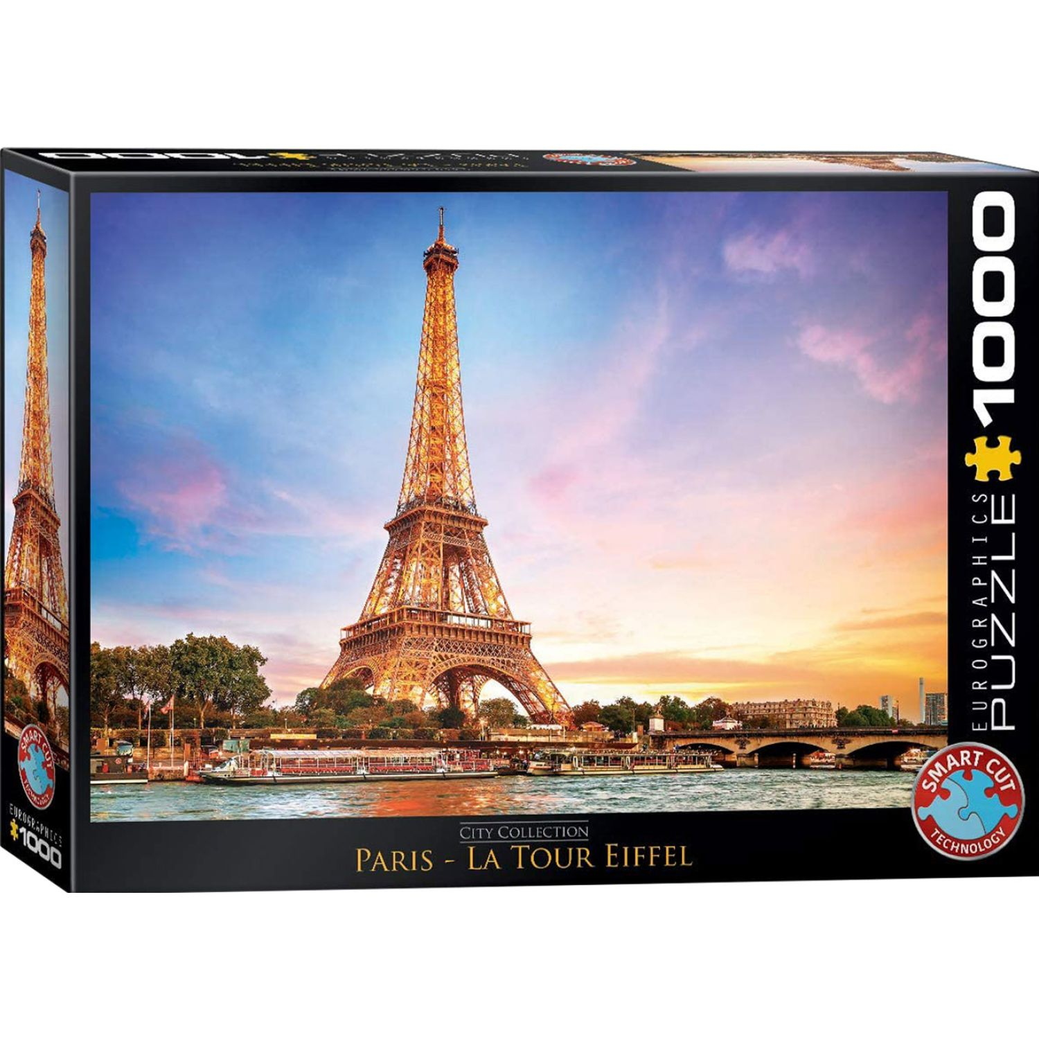 EUROGRAPHICS City Collection - Paris Varios Rompecabezas 3-d