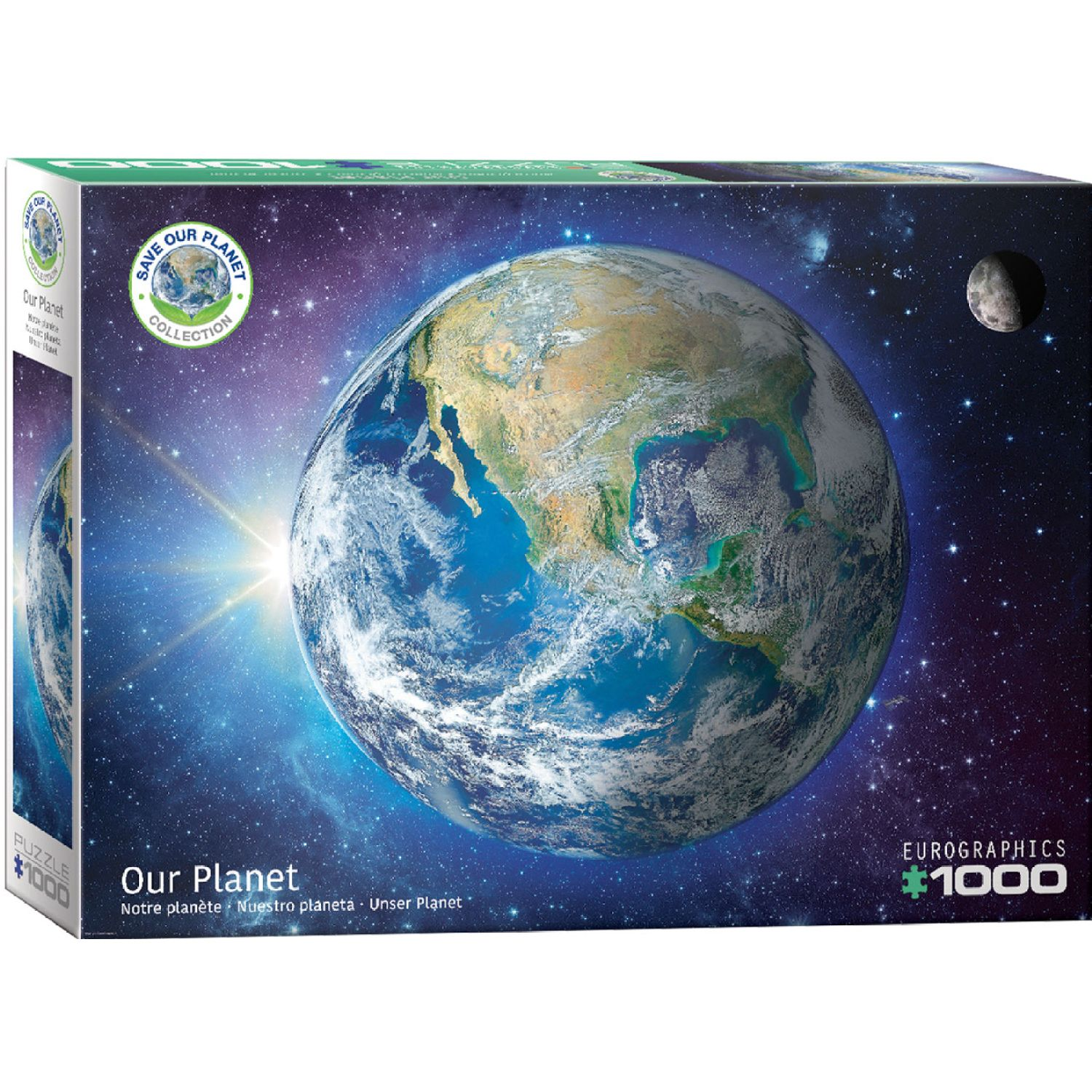 EUROGRAPHICS Save Our Planet! The Earth Varios Rompecabezas 3-d