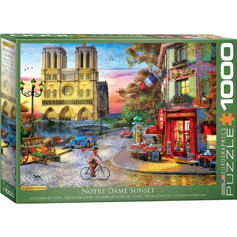 EUROGRAPHICS Notre Dame By Dominic Davison Varios Rompecabezas 3-d