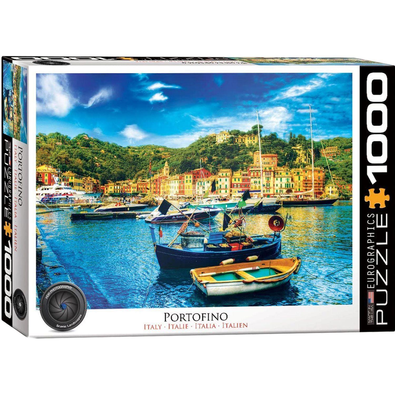 EUROGRAPHICS Portofino Italy Varios Rompecabezas 3-d