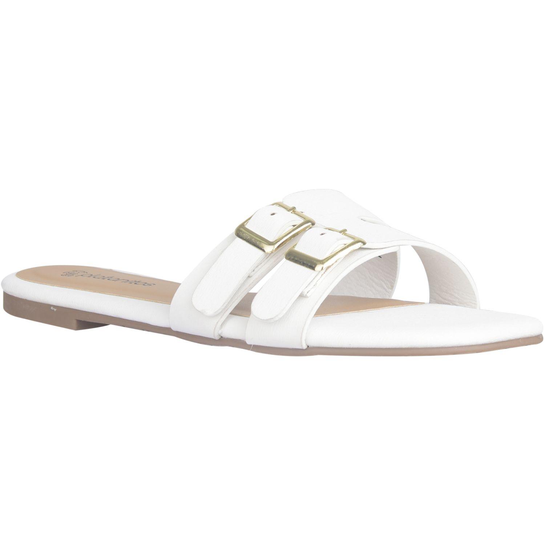 Platanitos Sandalia Dama Sf 0145 Blanco Flats