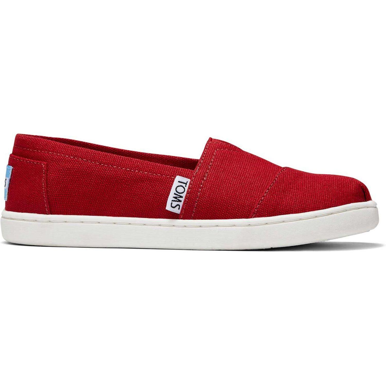 TOMS Alpargata Rojo Flats