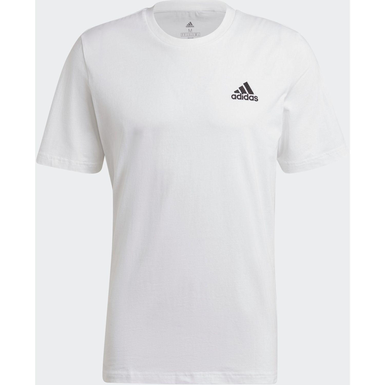 adidas M Sl Sj T Blanco Camisetas y polos deportivos