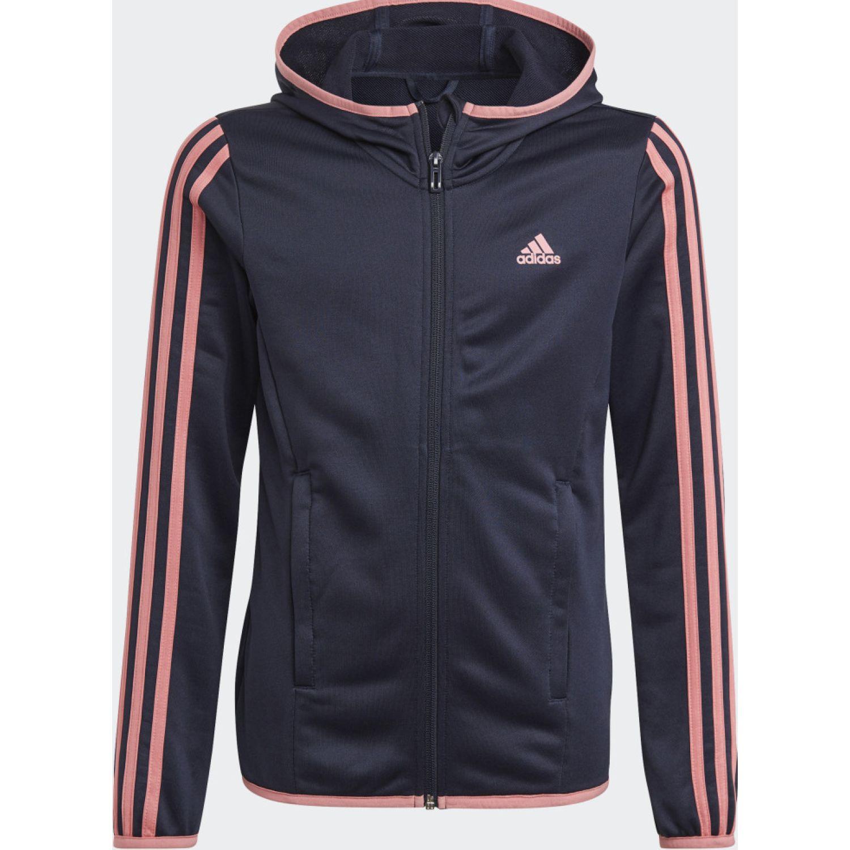 Adidas G 3s Fz Hd Azul / rosado Hoodies y sudaderas de moda