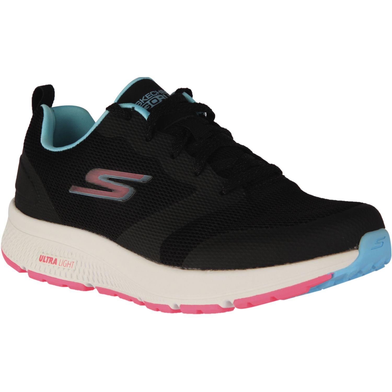 Skechers Go Run Consistent Negro / celeste Para caminar