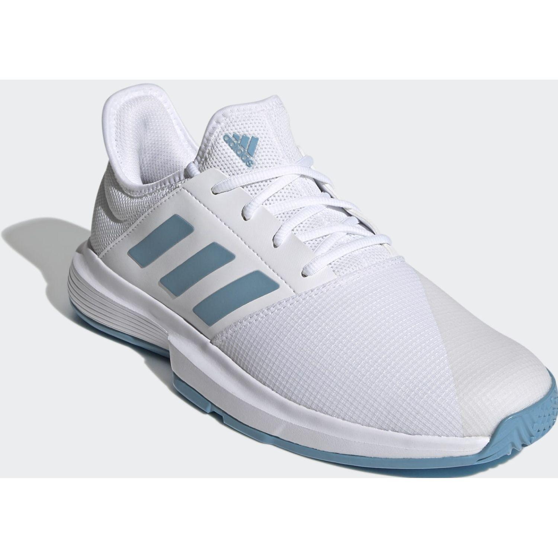 adidas Gamecourt M Blanco / celeste Para caminar