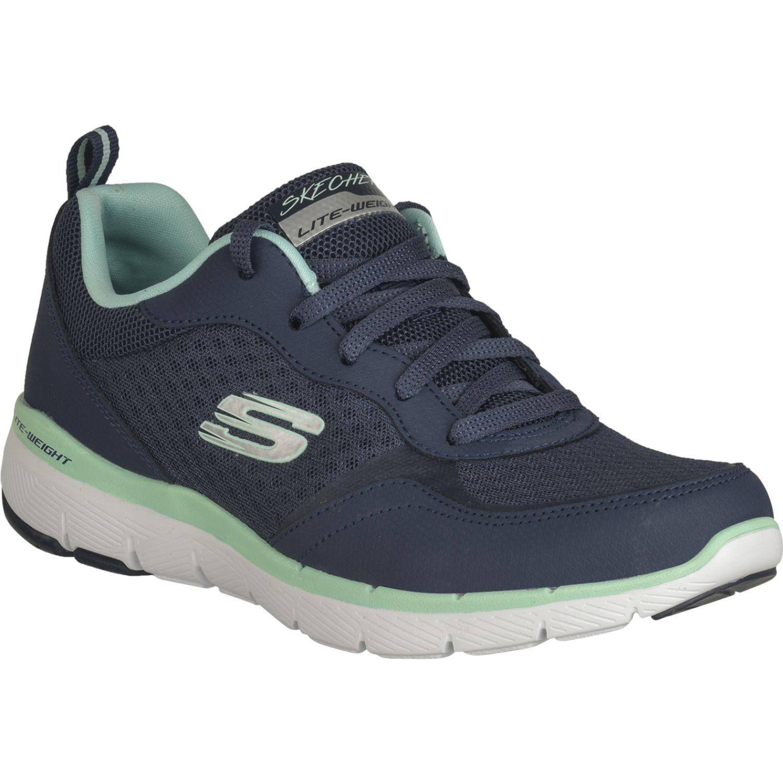 Skechers Flex Appeal 3.0 Azul Para caminar