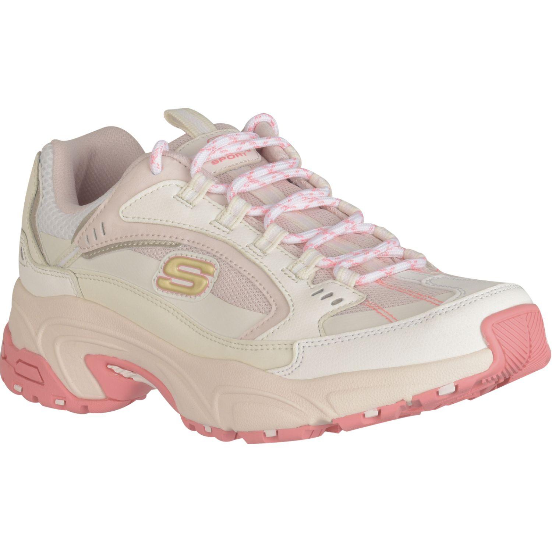 Skechers Stamina Blanco / rosado Para caminar