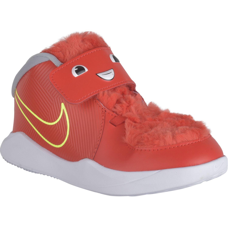 Nike Team Hustle D 9 Lil Td Rojo Zapatillas