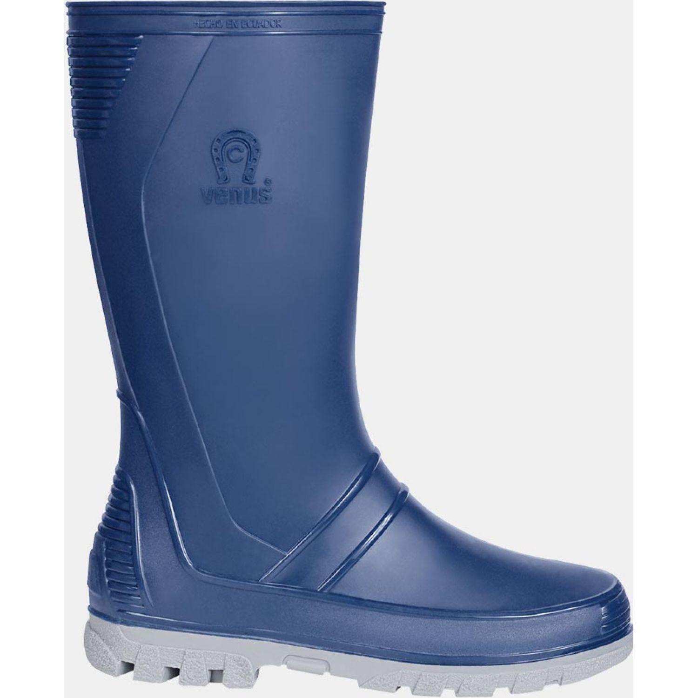 VENUS And Az Gr Azul / gris Botas para lluvia