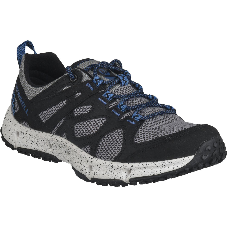 Merrell Hydrotrekker Negro / azul Zapatos de senderismo