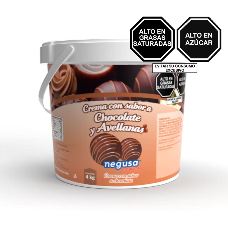 NEGUSA 4kg Crema Repostera Chocolate Marron Decoraciones de glaseado