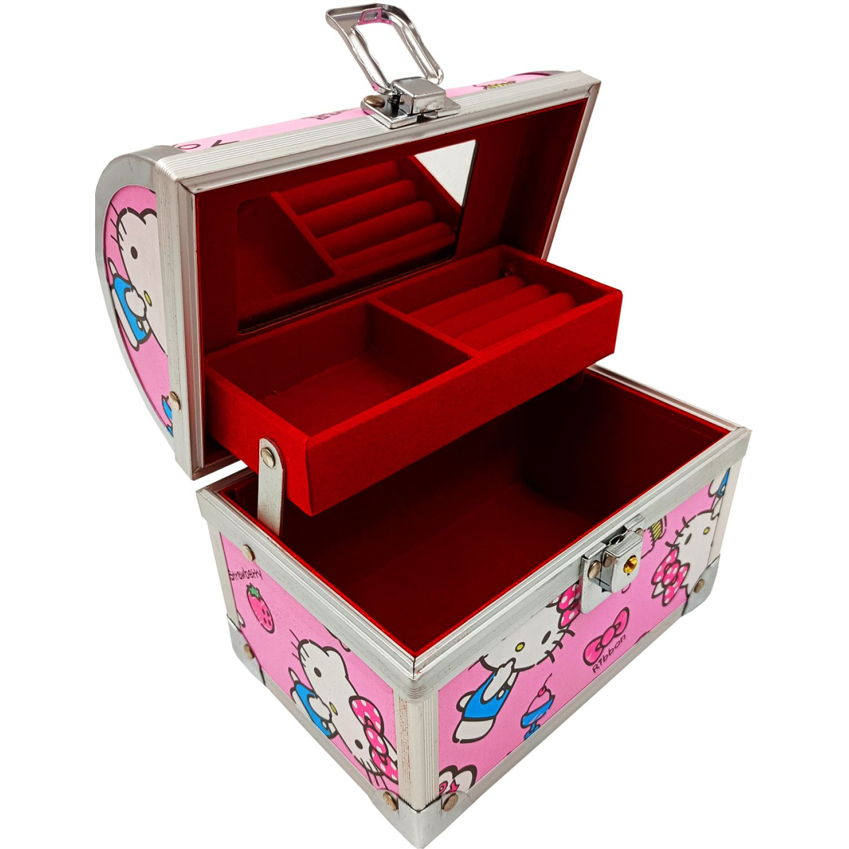 Hello Kitty Joyero Sweet Kitty Rosa Rosa Cajas decorativas de joyería