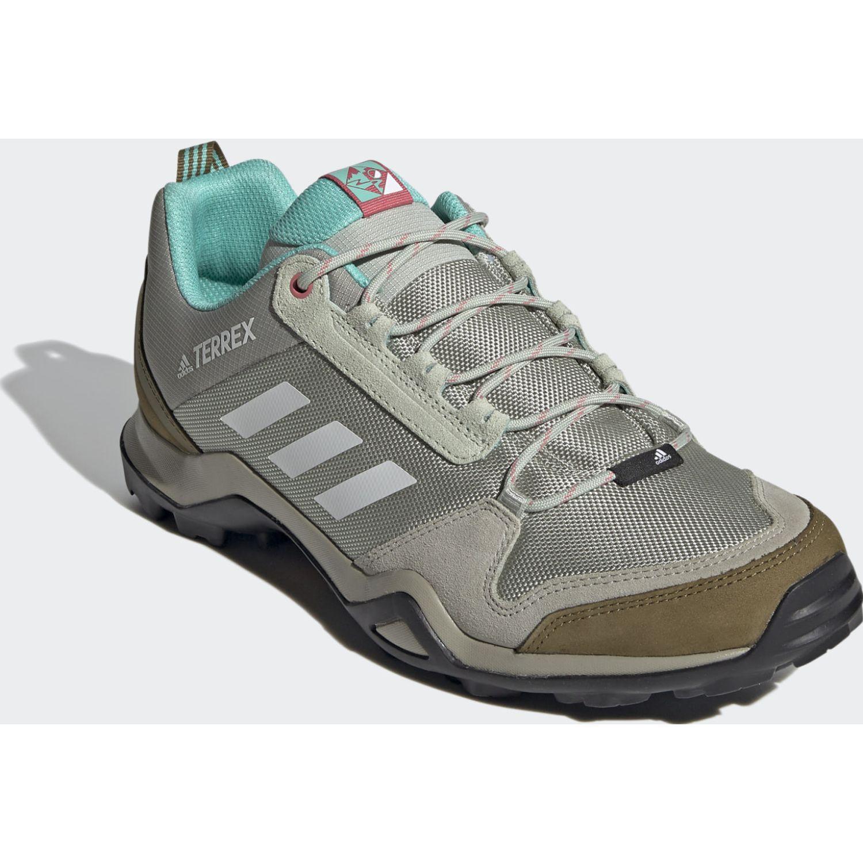 adidas Terrex Ax3 Blue Verde Zapatos de senderismo