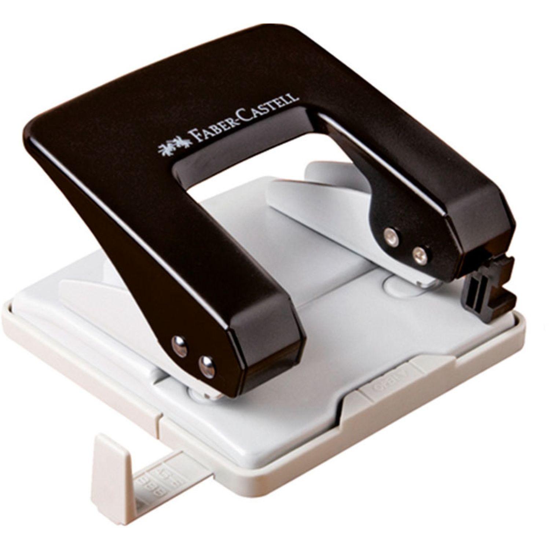FABER CASTELL Perforador Metalico U40 De 40h Negr Negro Perforadoras